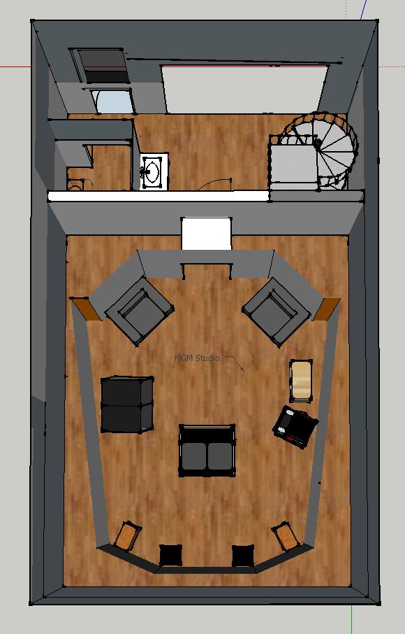 Matthew Gray Mastering - New Room Build-top-view-main-studio.png
