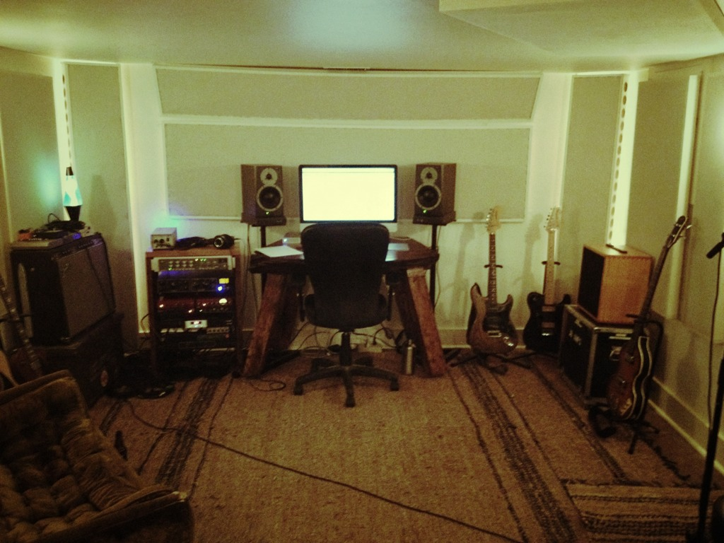 my basement studio build