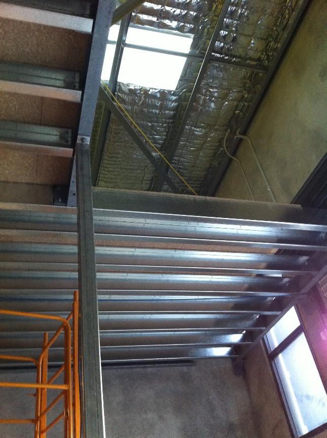 Mezzanine floor mezzanine floor construction brisbane for Mezzanine floor construction details
