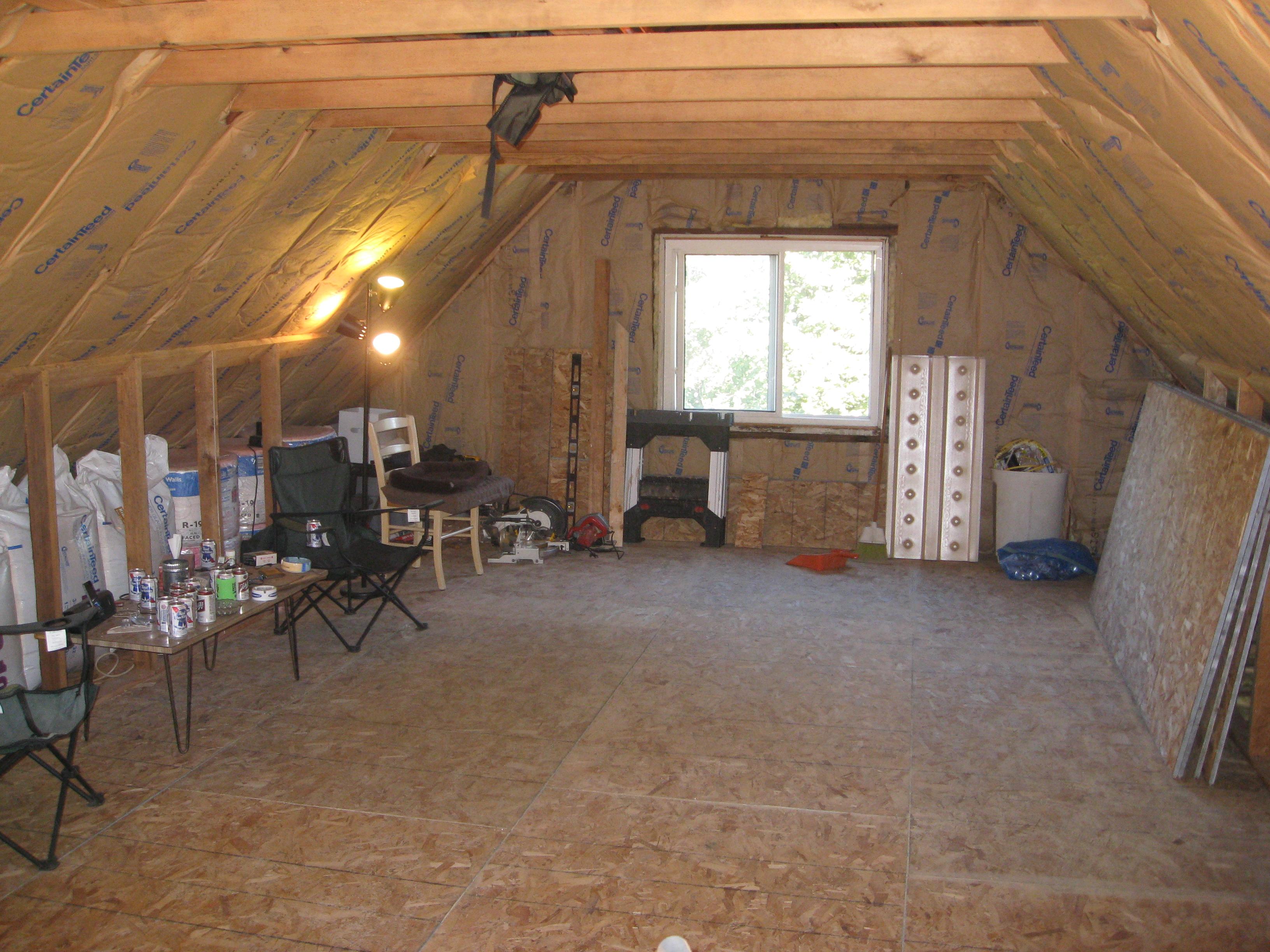 Small attic room joy studio design gallery best design for Attic design studio