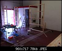 Canvas Sound Studio build, Wirral-first-frames-up.jpg