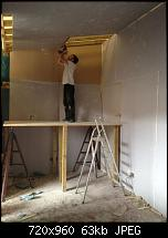 Canvas Sound Studio build, Wirral-first-layer-soundshield-nearly-complete.jpg