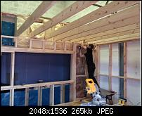 Canvas Sound Studio build, Wirral-control-room-ceiling.jpg