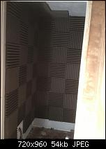 Canvas Sound Studio build, Wirral-vocal-booth-taking-shape.jpg