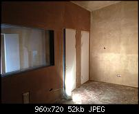 Canvas Sound Studio build, Wirral-live-room-freshly-plastered.jpg
