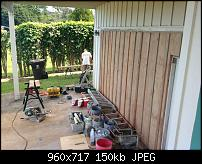 Tonelux, Radar and Maui...OH MY!-finishing-garage-wall.jpg