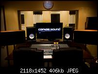 Canvas Sound Studio build, Wirral-control-room-desk1.jpg