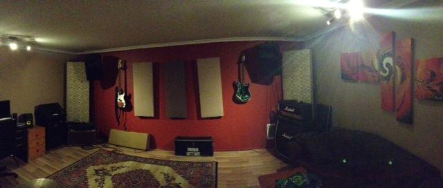 Double Garage Studio Rehearsal Build Page 2