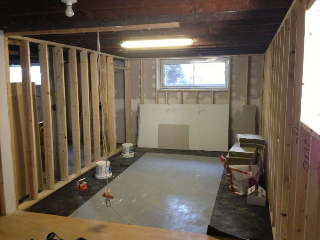 Home Studio Build Basement Montreal