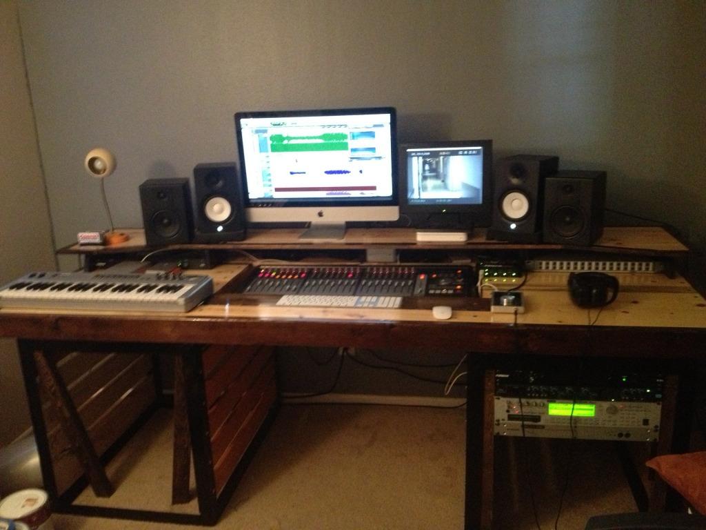 Diy Studio Desk Gearslutz Pro Audio Community
