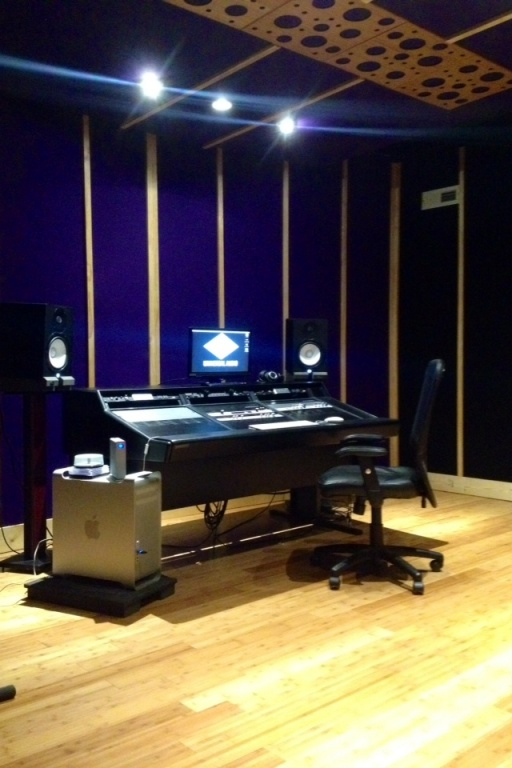 how to build a music studio