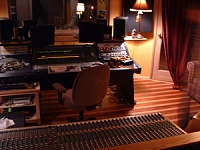 Here she is in all her glory....new studio, ain't she purty?-console.jpg