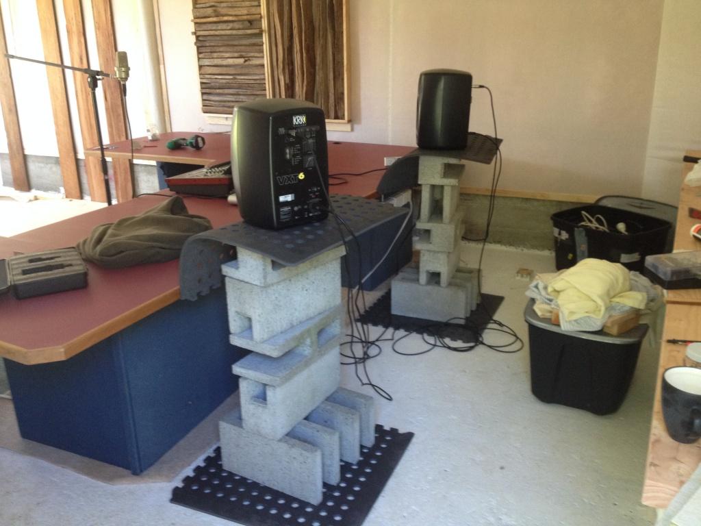 Shed Conversion In Progress Gearslutz Pro Audio Community