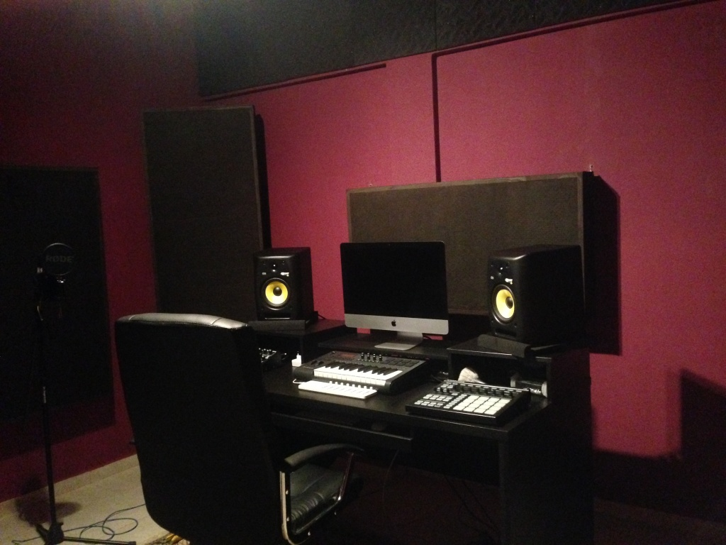 Home Studio Acoustic Treatment In Brazil Img 2120