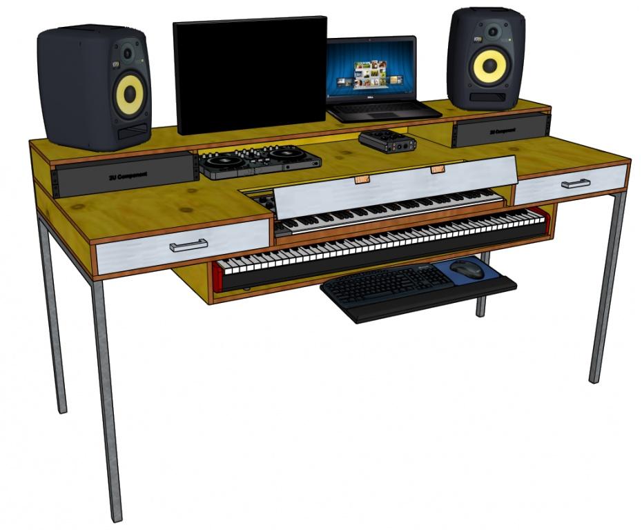 Diy Studio Desk Design