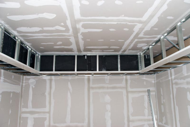 Building Soffits With Metal Studs