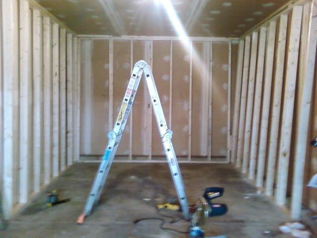 Garage studio build for Garage con studio