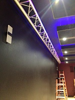 Decade Sound studio build - Tacoma, WA-trussing-up.jpg