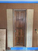 RV Garage - conversion to Recording Studio!-between-door-installed-1.jpg