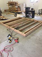 RV Garage - conversion to Recording Studio!-drum-riser-2.jpg