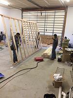 RV Garage - conversion to Recording Studio!-framing-walkway-rv-space-1.jpg