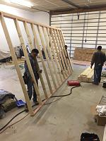 RV Garage - conversion to Recording Studio!-framing-walkway-rv-space-2.jpg
