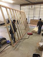 RV Garage - conversion to Recording Studio!-framing-walkway-rv-space-2.jpg