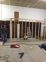 RV Garage - conversion to Recording Studio!-framing-walkway-rv-space-3.jpg