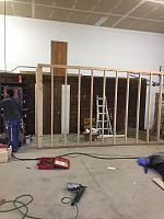 RV Garage - conversion to Recording Studio!-framing-walkway-rv-space-3.jpg