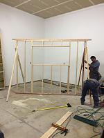 RV Garage - conversion to Recording Studio!-iso-booth-framing-beginning-closeup.jpg