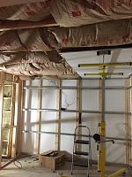 RV Garage - conversion to Recording Studio!-iso-starting-drywall-celing.jpg