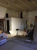RV Garage - conversion to Recording Studio!-drywall-insulation-complete-storage_hvac_bathroom-shot.jpg