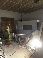 RV Garage - conversion to Recording Studio!-drywall-insulation-complete-iso-booth.jpg