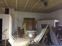 RV Garage - conversion to Recording Studio!-drywall-insulation-complete-far-shot.jpg