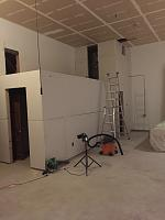 RV Garage - conversion to Recording Studio!-walkway-hvac-bathroom-drywalled.jpg