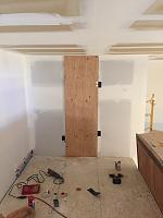 RV Garage - conversion to Recording Studio!-hvac-door.jpg