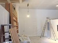RV Garage - conversion to Recording Studio!-front-wall-after-priming.jpg
