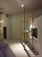 RV Garage - conversion to Recording Studio!-front-wall-after-priming-2.jpg