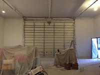 RV Garage - conversion to Recording Studio!-garage-door-after-priming.jpg