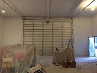 RV Garage - conversion to Recording Studio!-garage-door-after-priming.jpg