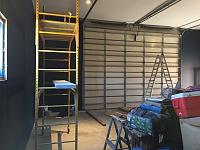 RV Garage - conversion to Recording Studio!-rv-painted-garage-door-view.jpg