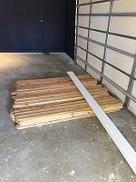 RV Garage - conversion to Recording Studio!-wood-wall-before-3.jpg