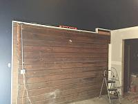 RV Garage - conversion to Recording Studio!-wood-wall-before-4.jpg