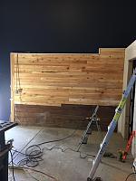 RV Garage - conversion to Recording Studio!-wood-wall-before-8.jpg