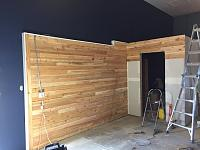 RV Garage - conversion to Recording Studio!-wood-wall-before-9.jpg