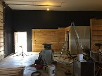 RV Garage - conversion to Recording Studio!-wood-wall-before-10.jpg