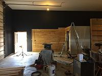 RV Garage - conversion to Recording Studio!-wood-wall-before-10.jpg