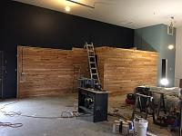 RV Garage - conversion to Recording Studio!-wood-wall-after-1.jpg