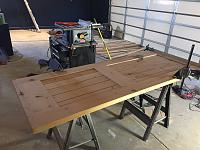 RV Garage - conversion to Recording Studio!-reclaimed-door-glued-2.jpg