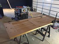 RV Garage - conversion to Recording Studio!-reclaimed-door-glued-2.jpg